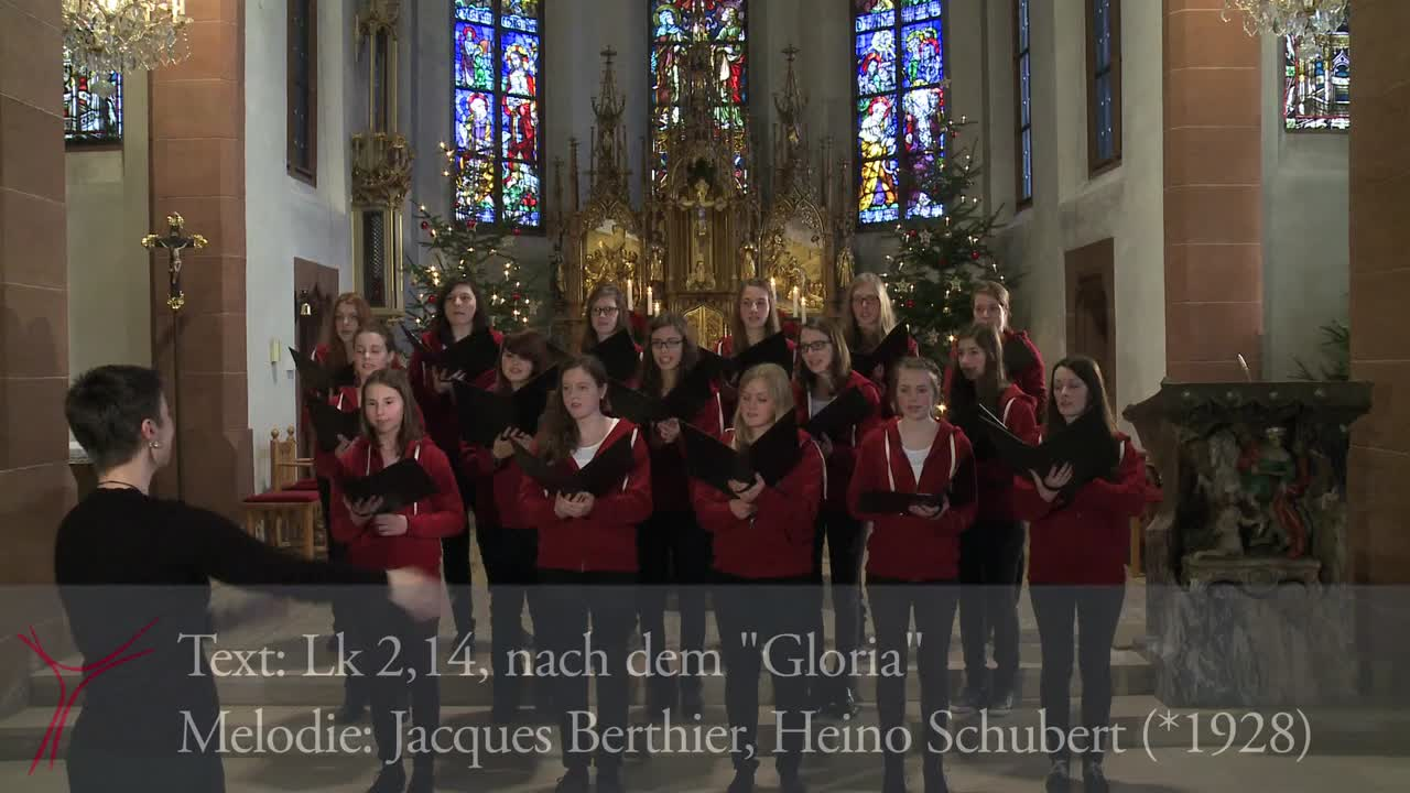 Gotteslobvideo (GL 168): Gloria, gloria in excelsis deo