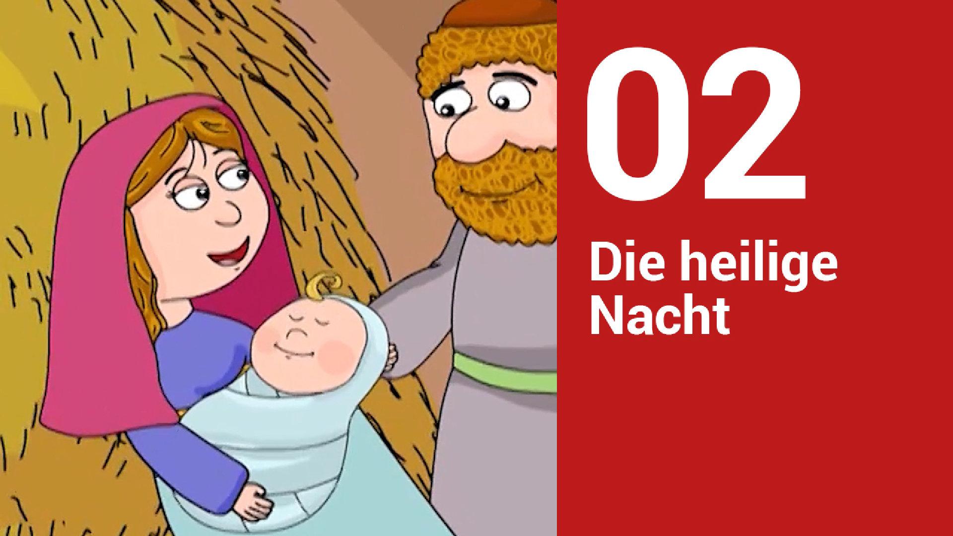 Die Weihnachtsgeschichte für Kinder erzählt - katholisch.de